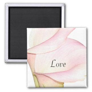 Calla Lilies Love Magnet