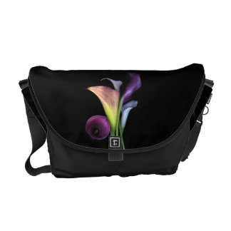 Calla Lilies Messenger Bag