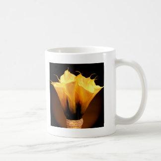 Calla Lilies Classic White Coffee Mug