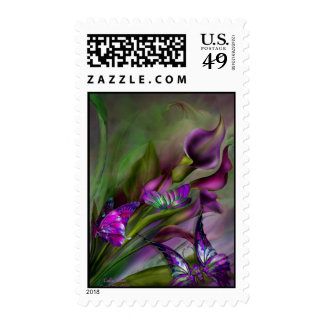 Calla Lilies Postage