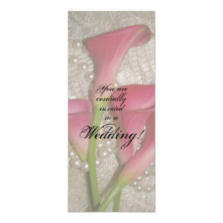 Calla Lilies Wedding Invitation