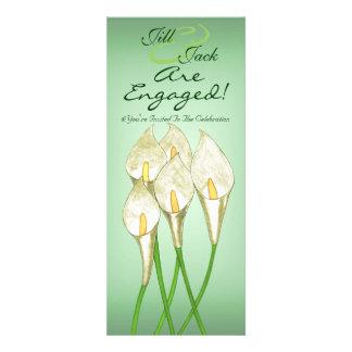 Calla Lilies White Custom Invites