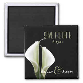 Calla Lillies Save the Date Magnet