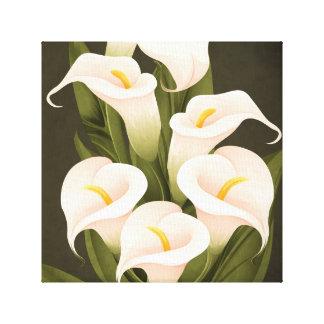 Calla Lilly Canvas Print