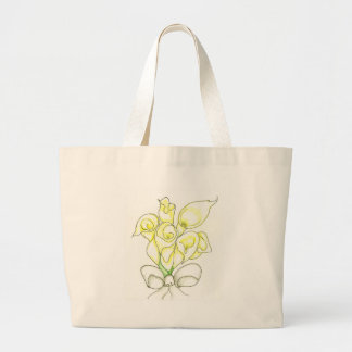 Calla Lilly Original Artwork Customizable gifts Canvas Bags