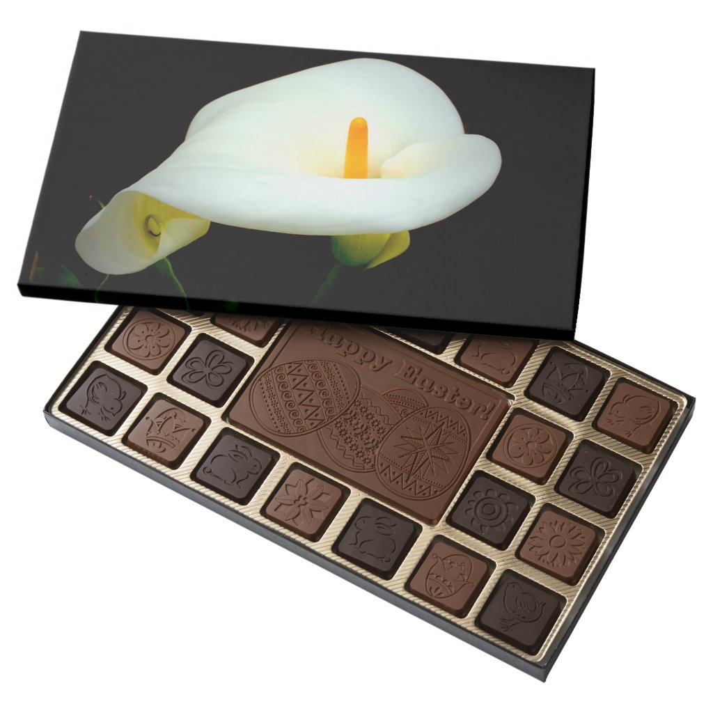 Calla Lily 45 Piece Box Of Chocolates
