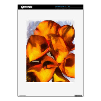 Calla Lily Bouquet iPad Skins