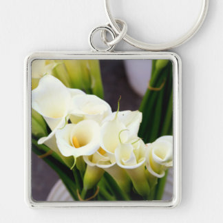 calla lily bouquet keychain