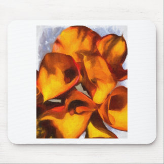 Calla Lily Bouquet Mouse Pad