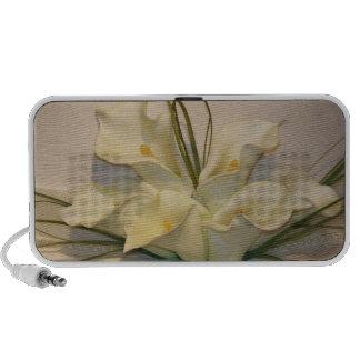 Calla lily bouquet mp3 speaker