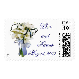 Calla Lily Bouquet Stamps