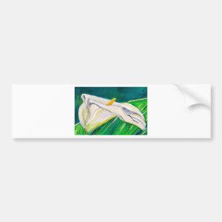 Calla Lily Bumper Sticker