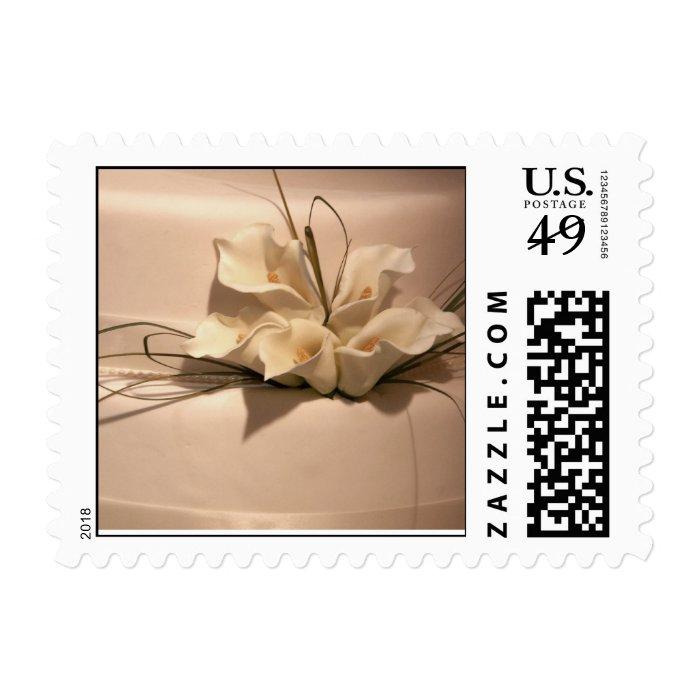 Calla lily cake postage - small