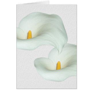Calla Lily Card