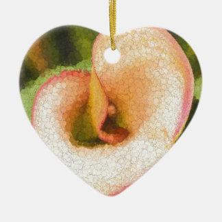Calla Lily Ceramic Ornament
