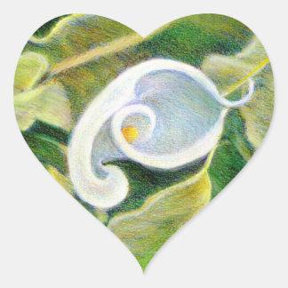 Calla Lily Fine Art Flower Sticker