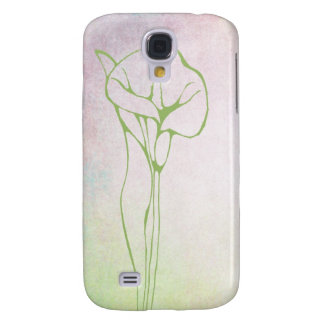 Calla Lily Floral Elegance in Soft Pastels Samsung Galaxy S4 Cover