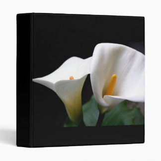 Calla Lily Flower on a Binder