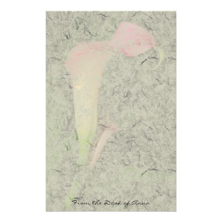 Calla Lily Flowers Floral Faux Handmade Paper