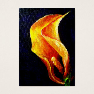 Calla Lily I ACEO Art Trading Cards
