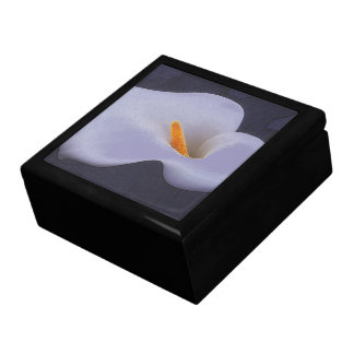 Calla Lily Illustration Collectible Jewelry Boxes