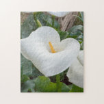 """calla lily in the garden jigsaw puzzle<br><div class=""""desc"""">calla lily in the garden</div>"""