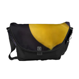Calla Lily in Yellow - Medium Bag Courier Bag