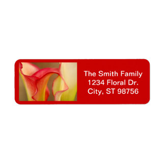 Calla Lily Label