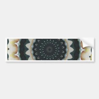 Calla Lily Mandala Bumper Sticker