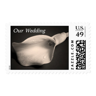 Calla Lily, Our Wedding Postage