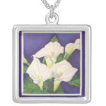 Calla Lily Personalized Necklace