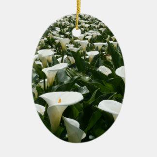 Calla Lily Plantation, Taiwan Ceramic Ornament