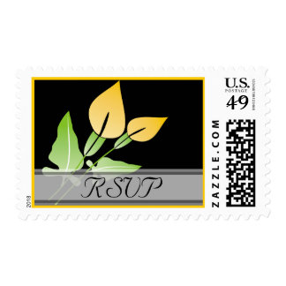 Calla Lily RSVP Stamps
