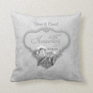 Calla Lily Silver Anniversary 60th - Customize Pillow