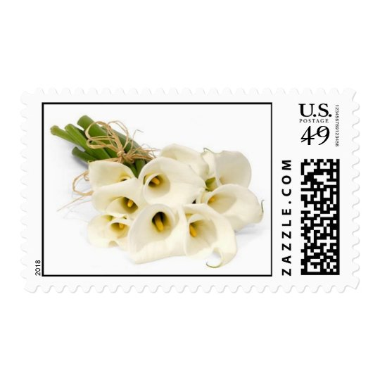 Calla Lily Stamps -  Floral Wedding Postage