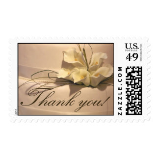 Calla Lily Thank You! Stamps