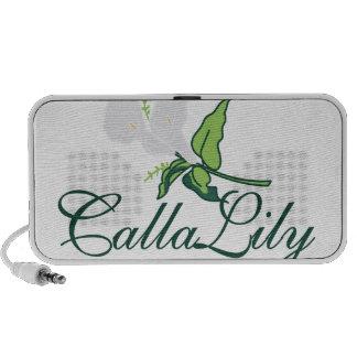 Calla Lily Travel Speaker