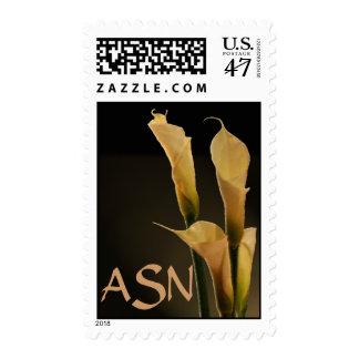 Calla Lily Wedding Flower - Customized Postage