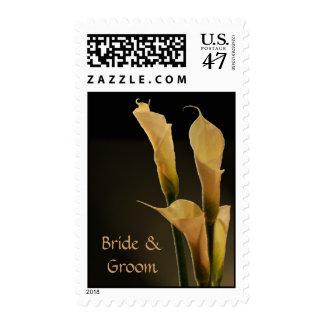 Calla Lily Wedding Flower Postage