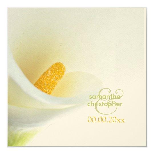 Calla lily/wedding Invitations