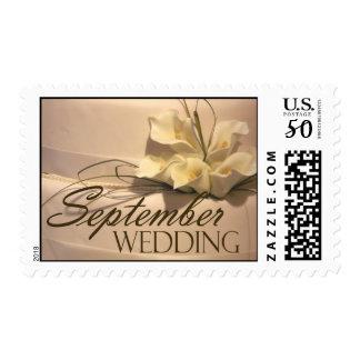 Calla Lily Wedding Postage