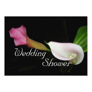 Calla Lily Wedding Shower Invitation