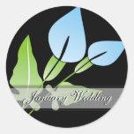 Calla Lily Wedding Stickers