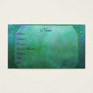Calla Lily Wonder Business Card