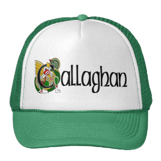 Callaghan Celtic Dragon Cap Trucker Hat