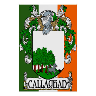 Callaghan Coat of Arms Print