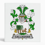Callaghan Family Crest 3 Ring Binders