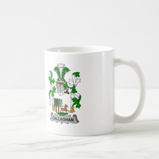 Callaghan Family Crest Coffee Mug