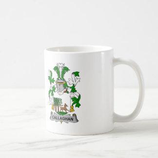 Callaghan Family Crest Classic White Coffee Mug