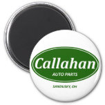 Callahan Auto 2 Inch Round Magnet